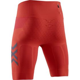 X-Bionic Twyce G2 Run Shorts Men sunset orange/teal blue